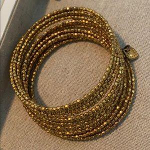 Stella & Dot Bardot spiral bracelet